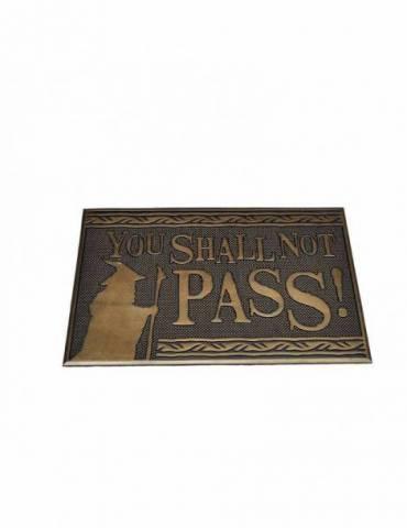 Felpudo El Señor de los Anillos: You Shall Not Pass 40 x 60 cm