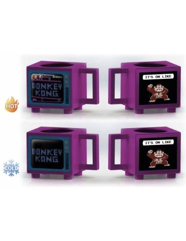 Taza sensitiva al calor Nintendo: Donkey Kong