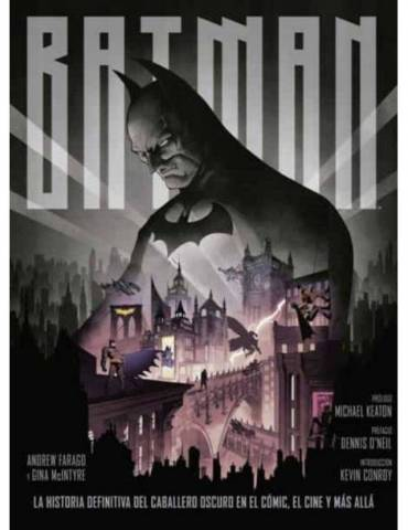 Batman: La Historia definitiva del Caballero Oscuro en el Cómic