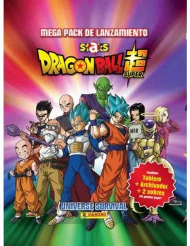Mega Pack (Archivador + 2 Sobres + Tablero de Juego) Staks Dragon Ball Super