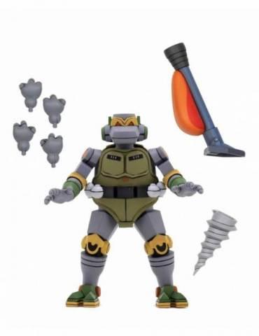 Figura Las Tortugas Ninja Scale Action: Ultimate Metalhead 18 cm