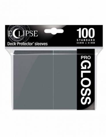 Fundas Standard Ultra Pro Color Smoke Grey - Paquete De 100