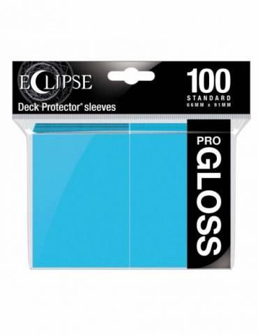 Fundas Standard Ultra Pro Color Sky Blue - Paquete De 100