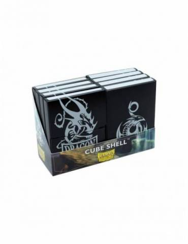 Caja de Mazo Dragon Shield Cube Shells: Negro