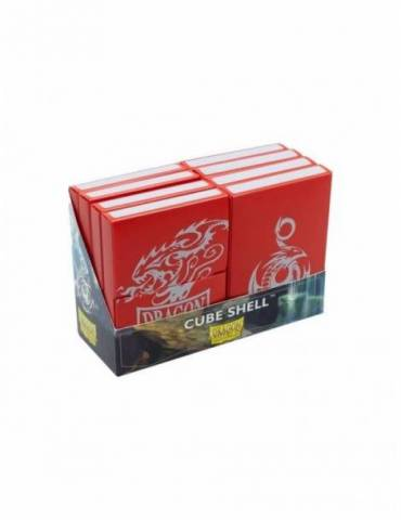 Caja de Mazo Dragon Shield Cube Shells: Red Display