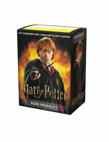 Fundas Standard Dragon Shield Art Matte: Ron Weasley  Limited Edition (100)