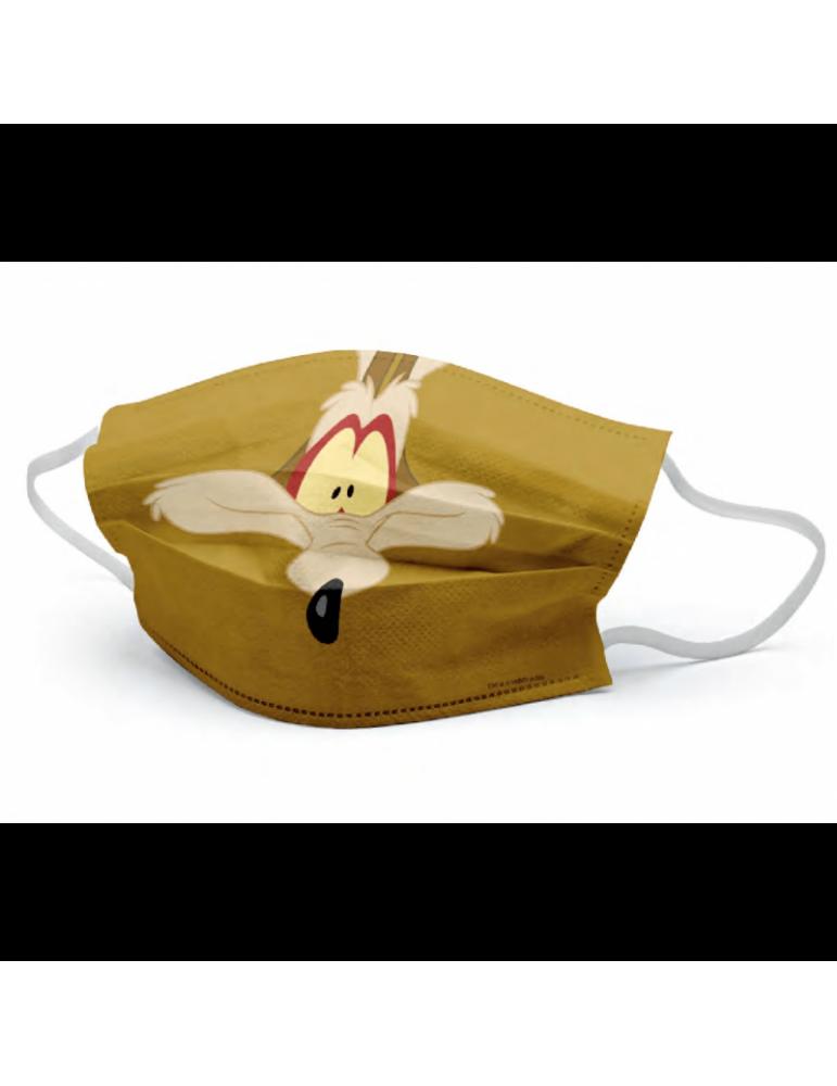 Mascarilla Looney Tunes: Coyote