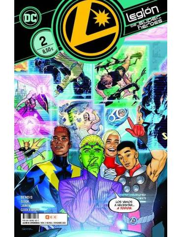 Legión de Superhéroes núm. 02