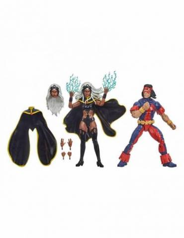 Pack de 2 Figuras Marvel Legends X-Men 20 Aniversario: Storm & Thunderbird 15 cm