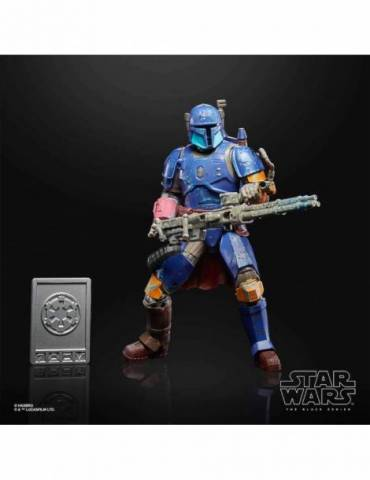 Figura Star Wars Black Series Credit Collection: Heavy Infantry Mandalorian 19 cm