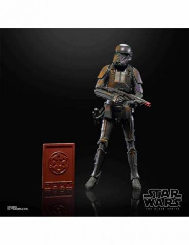 Figura Star Wars Mandalorian Black Series Credit Collection: Imperial Death Trooper 19 cm