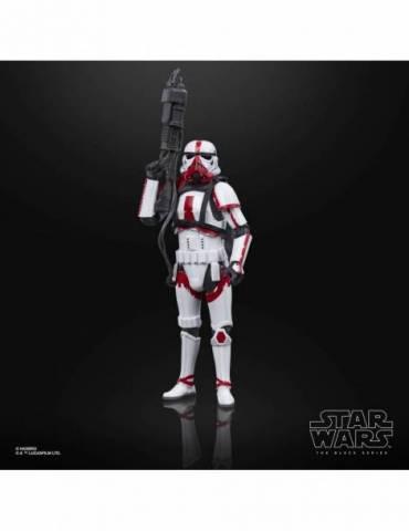 Figura Star Wars The Black Series: Incinerator Trooper 15 cm