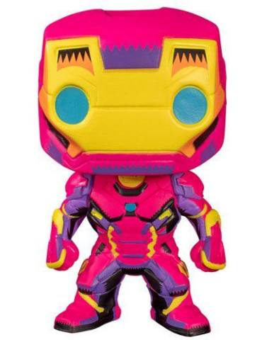 Figura POP Marvel Marvel Black Light: Iron Man 9 cm