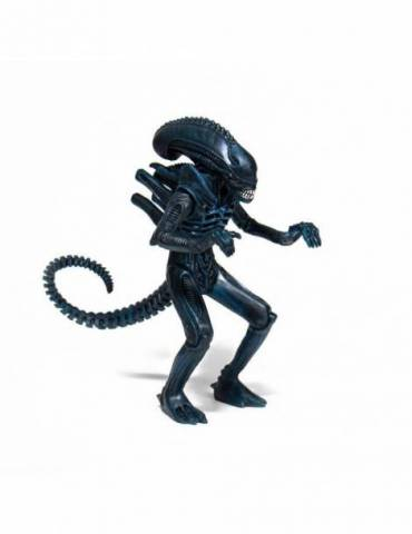 Figura ReAction Aliens: Alien Warrior Nightfall Blue 10 cm
