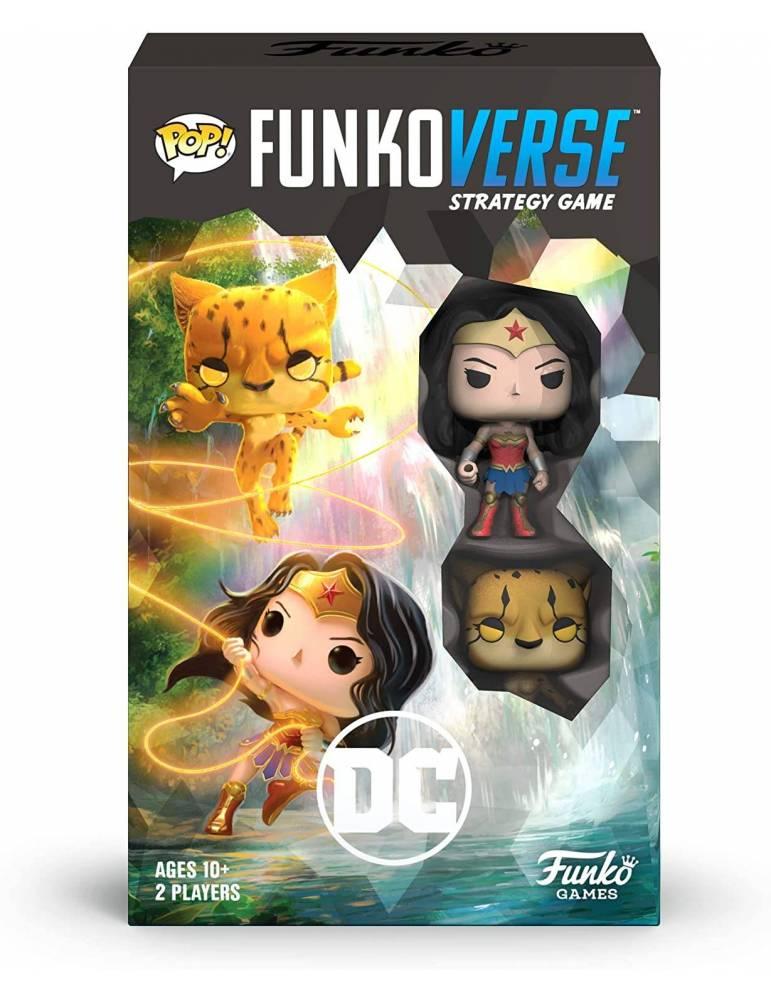 Funkoverse Strategy Game: DC Comics 102 – Wonder Woman & Cheetah