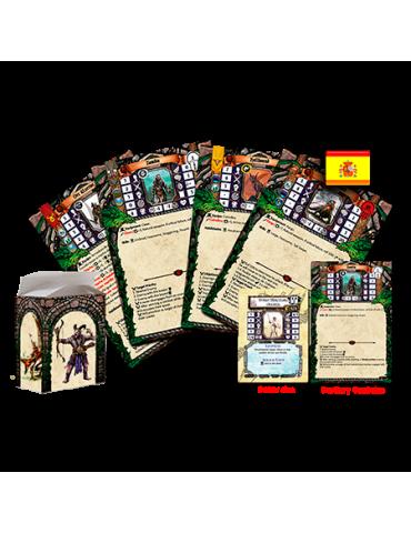 Dungeon Universalis: Cartas de bestiario y encuentros legendarios