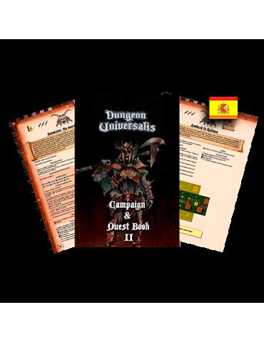 Dungeon Universalis: Campaña y libro de aventuras II La Piedranoche