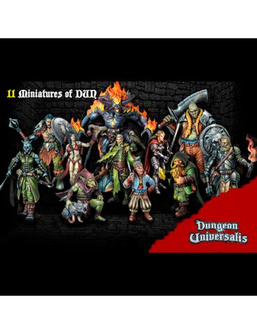 Dungeon Universalis: Miniaturas