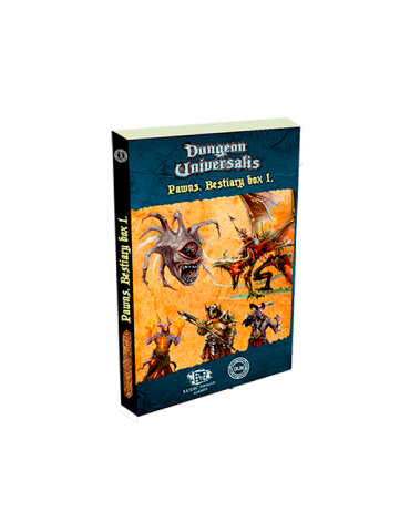 Dungeon Universalis: Standees. Bestiario 1