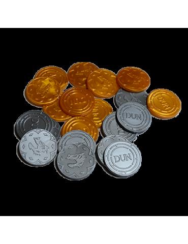 Dungeon Universalis: Monedas