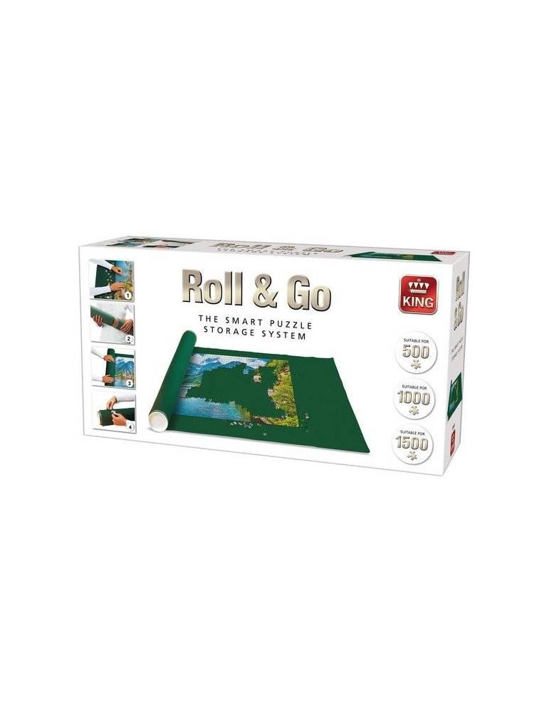 Puzzle Roll & Go: Blanco (1500 piezas)