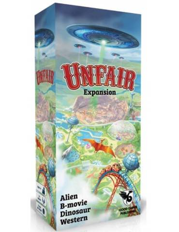 Unfair Expansion: Alien B-movie Dinosaur Western