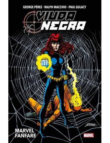 Viuda Negra. Marvel Fanfare