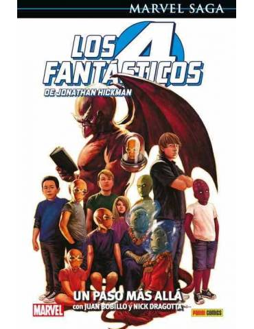 Los 4 Fantásticos de Jonathan Hickman 07: Un Paso más allá (Marvel Saga 106)