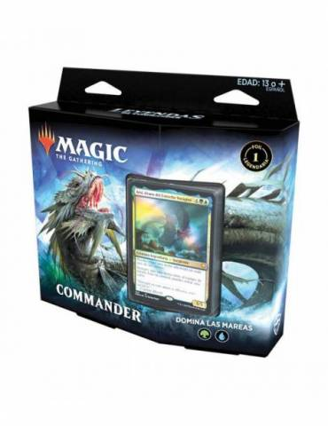 Magic: Leyendas de Commander - Domina las mareas (Castellano)