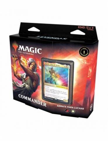 Magic: Leyendas de Commander - Ármate para luchar (Castellano)