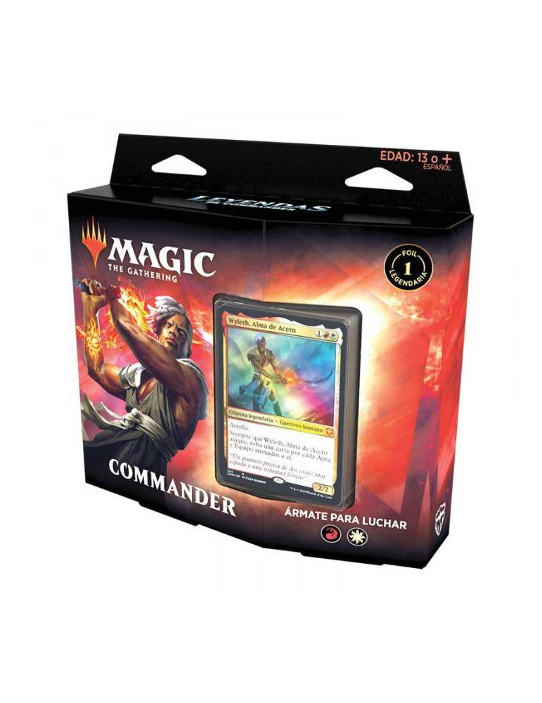 Magic: Leyendas de Commander - Ármate para luchar (Castellano)