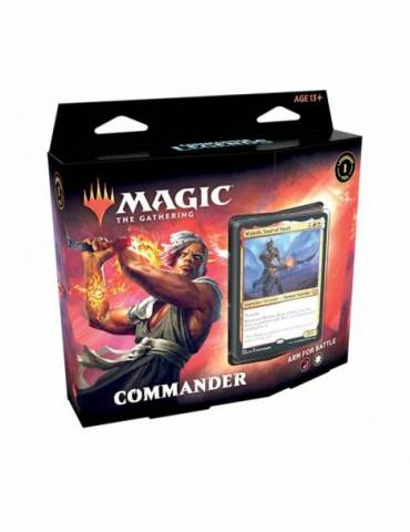 Magic: Leyendas de Commander - Arm for Battle (Inglés)