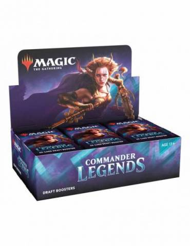 Magic Commander Legends: Caja de Sobres de Draft (24) (Inglés)
