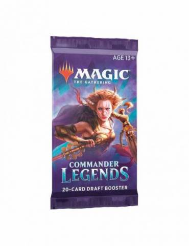 Magic Commander Legends: Sobre de Draft con 20 cartas (Inglés)