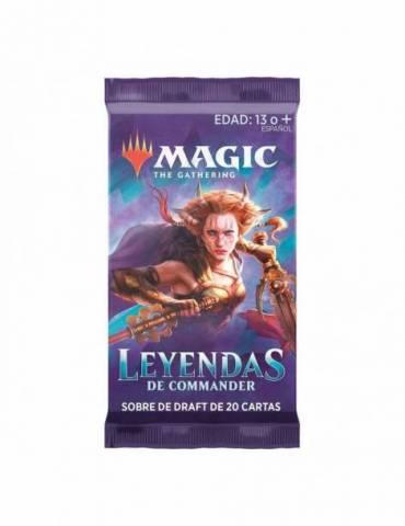Magic Leyendas de Commander: Sobre de Draft con 20 cartas (Inglés)