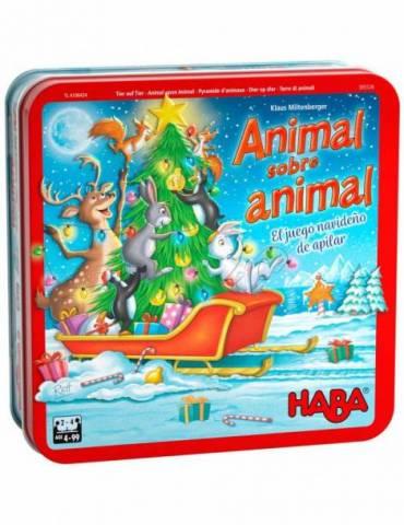 Animal sobre Animal - Un juego Nav ideño de apilar