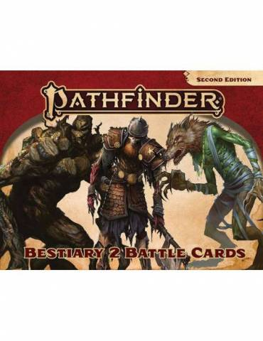 Pathfinder Adventure Card Game: Pathfinder Bestiary 2 Battle Cards