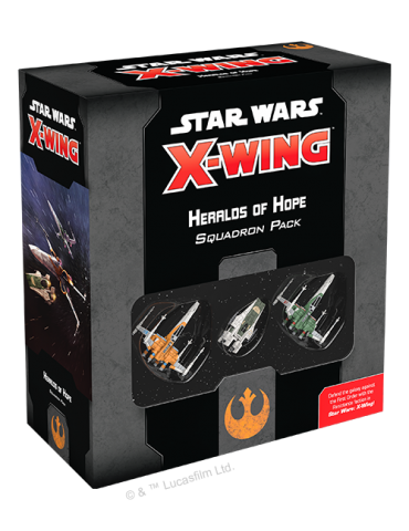 Star Wars: X-Wing (Second Edition) - Heralds of Hope Squadron Pack