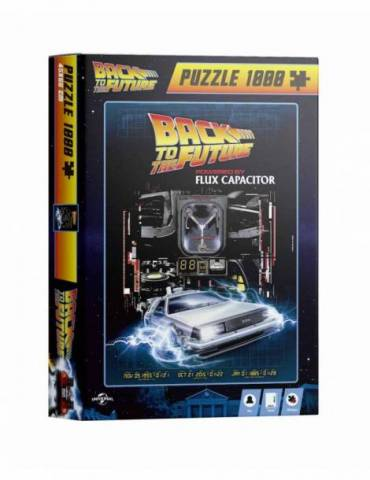 Puzle 1000 Powered By Flux Capacitor Regreso al Futuro
