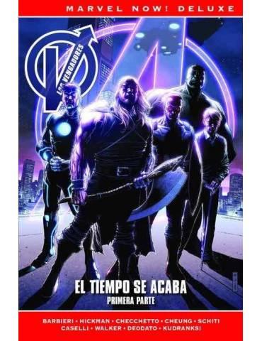 Los Vengadores de Jonathan Hickman 8. El Tiempo se Acaba. (Marvel Now! Deluxe)