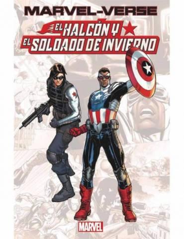 Marvel-Verse. El Halcón y el Soldado de Invierno