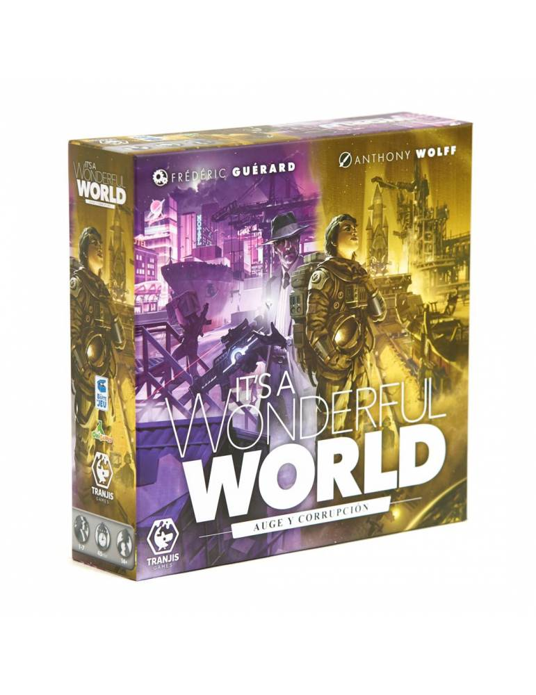 It's a Wonderful World: Auge y Corrupción + Pack de cartas promocionales
