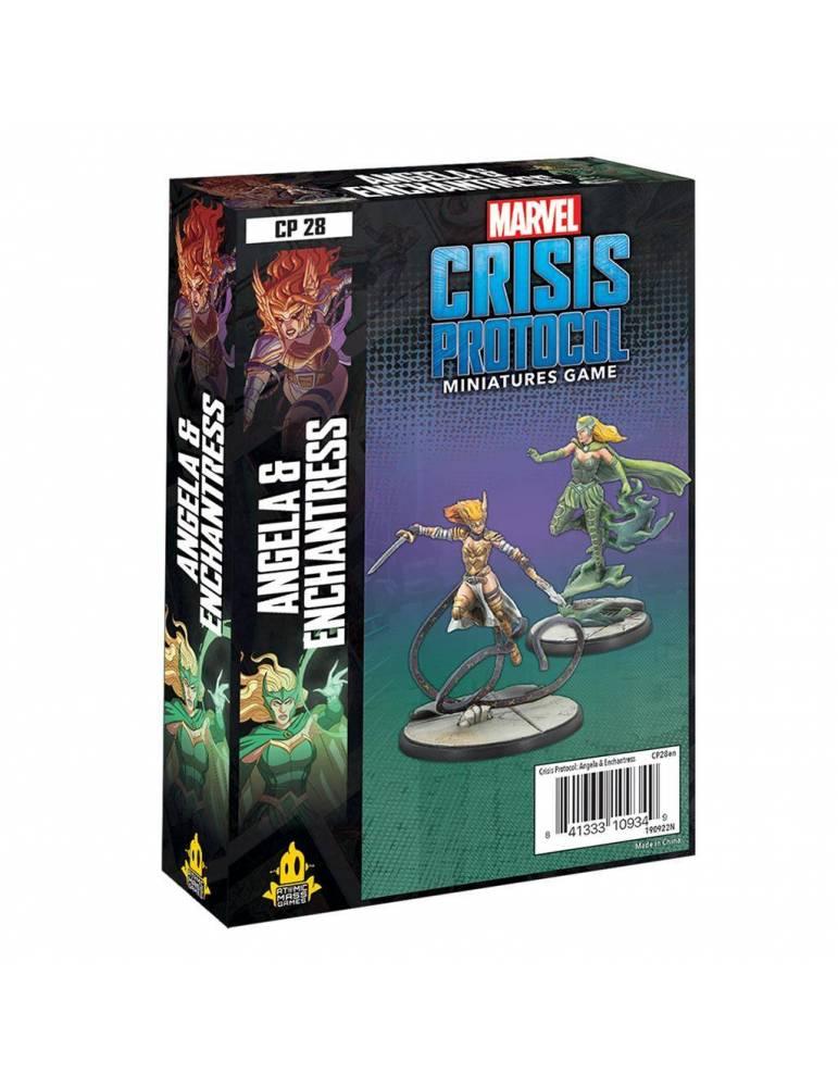 Marvel:Crisis Protocol - Angela & Enchantress