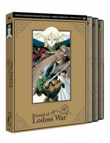 Record of Lodoss War Serie Completa (DVD)
