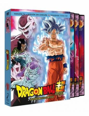 Dragon Ball Super Box 10. La Saga del Torneo de Poder (Episodios 119 a 131) (DVD)