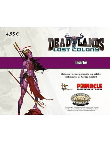Encarte Colonia Perdida (Deadlands)