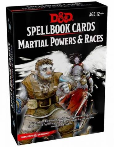 Dungeons & Dragons Spellbook Cards: Martial Powers and Races