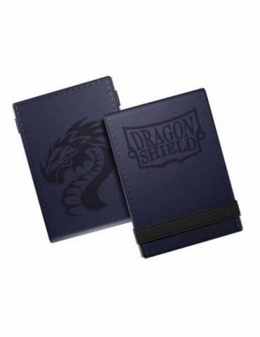 Cuadernillo Dragon Shield Life Ledger Deluxe Azul Medianoche