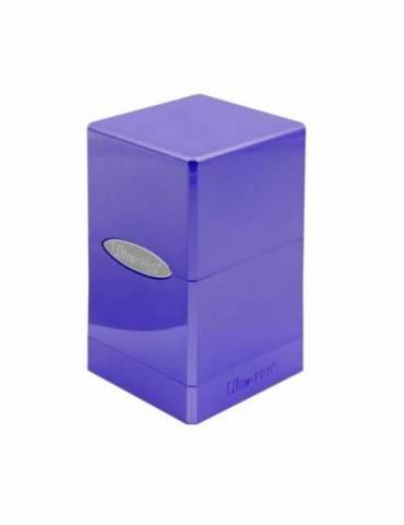 Caja de cartas Ultra Pro: Satin Tower Hi-Gloss - Amethyst (100 cartas)