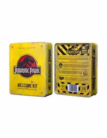 Caja Metal Welcome Kit Standard: Jurassic Park